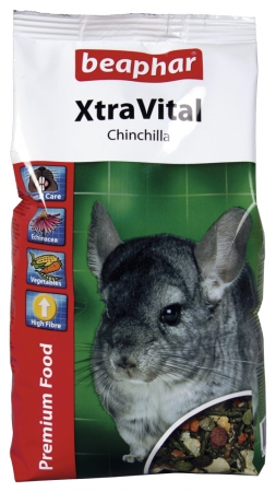 XtraVital Chinchilla Feed - 2.5kg - Dutch/French/English/German/Spanish/Portuguese/Italian/Greek