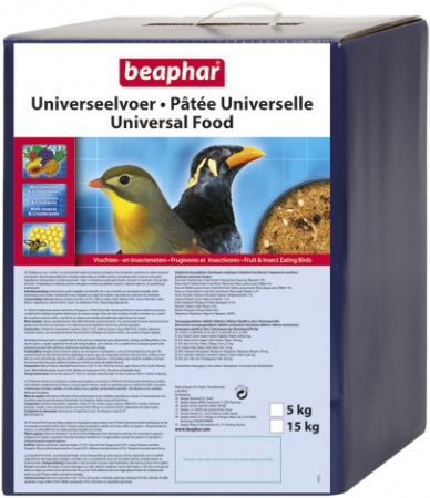 Universal Food - 5kg - Dutch/French/English/Spanish/Greek/Norwegian