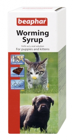 Worming Syrup Kitten - English