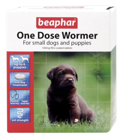 Total Wormer Small Dogs and Puppies - English