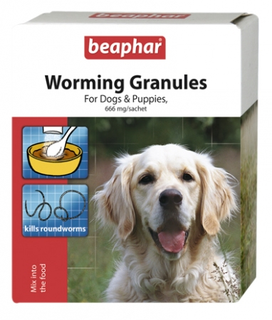 Worm Granules for dogs & puppies