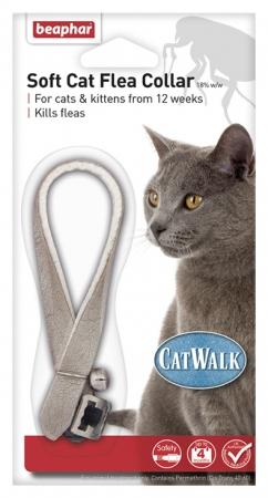 Beaphar Soft Cat Flea Collar Catwalk