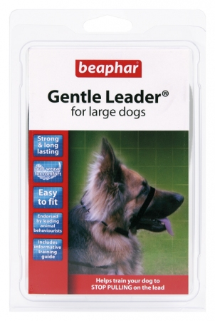 Gentle Leader Black (Large) - English