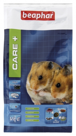 CARE+ Extruded Hamster Food - 700g - Dutch/French/English/German/Spanish/Italian/Greek/Norwegian