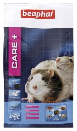 CARE+ Extruded Rat Food - 700g - Dutch/French/English/German/Spanish