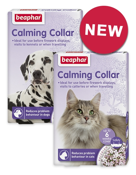 New! Calming range for cats and dogs