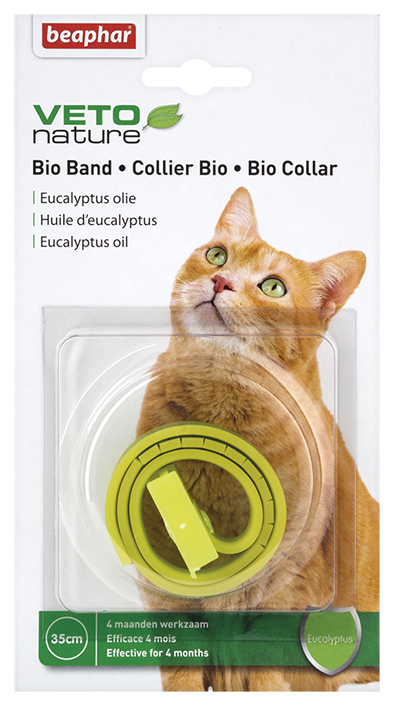 Beaphar Bio Natural Collar for Cats - collar against parasites