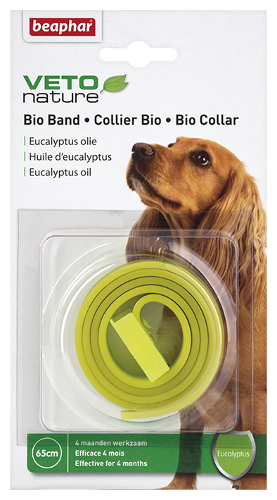 Beaphar Bio Collar for Dogs - Repels fleas and ticks