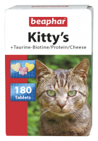 Kitty's Mix + Taurine-Biotine / Protein / Cheese - 180 tabs