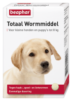 Total Wormer Small Dogs and Puppies