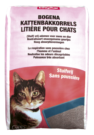 Bogena Cat Litter Dust Free - Dutch/French/English/German