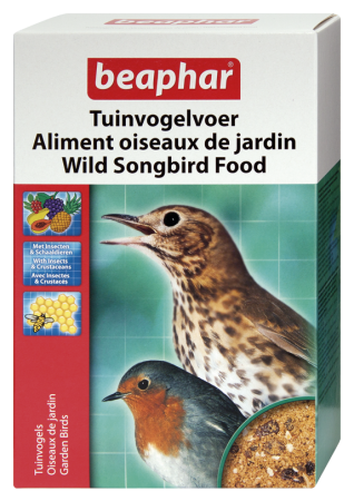 Wild Songbird Food - Dutch/French/English/Spanish/Greek/Norwegian