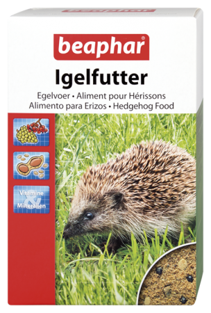 Hedgehog Food - Dutch/French/English/German/Spanish