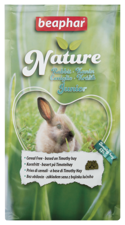 Nature Rabbit Junior - 1.25kg - English/Norwegian/Czech/Italian