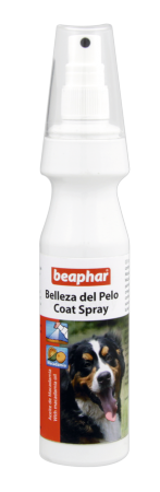 Coat Spray for Dogs - English/Spanish/Hungarian/Polish