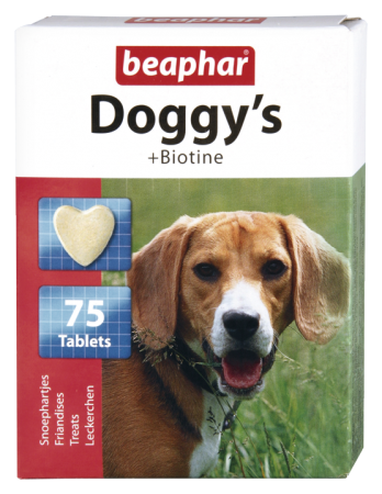 Doggy's + Biotine - Dutch/French/English/German