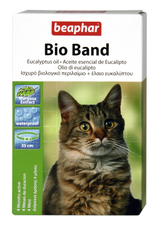 Bio Collar Cat - English/Spanish/Italian/Greek