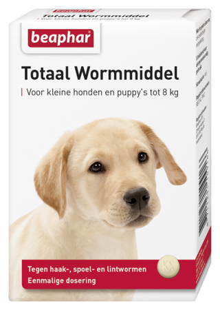 Beaphar Total Wormer Small Dogs And Puppies