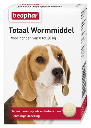 Total Wormer Medium Dogs - Dutch