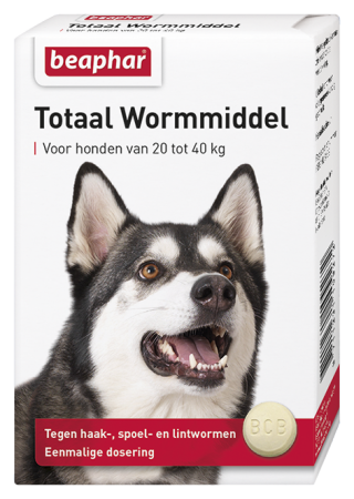 Total Wormer Large Dogs - Dutch