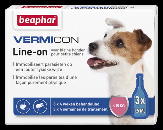 Vermicon Line On Small Dog - NL/FR