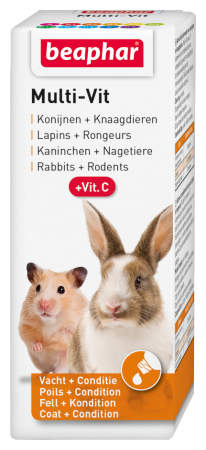 Multi Vit Small Animals - 50ml - Dutch/French/English/German