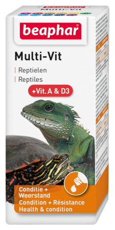 Multi-Vit Reptiles - Dutch/French/English/Polish/Greek