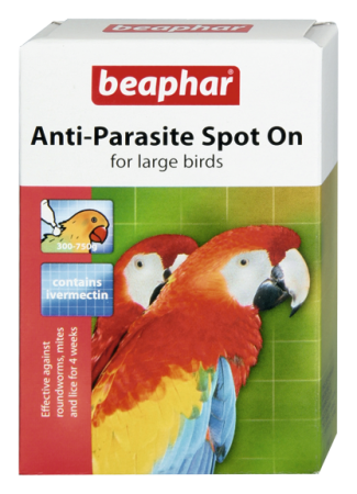 Anti-Parasite Spot On (large) - English