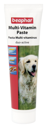 Multi Vitamin Paste Dog / Duo Active Paste - 100g - English/Spanish