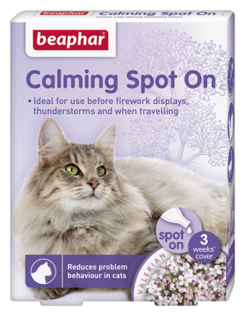 Calming Spot on for Cats - English