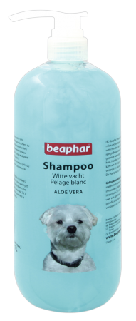 Shampoo White Coat Aloë Vera - 1L - Dutch/French