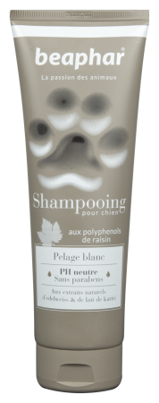Premium Shampoo White Coat - 250ml - French
