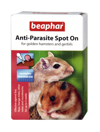 Anti-Parasite Spot On Hamster/Gerbil - English