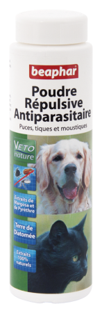 Flea & Tick Repellent Powder - French