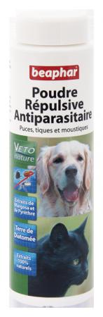 Flea & Tick Repellent Powder - French