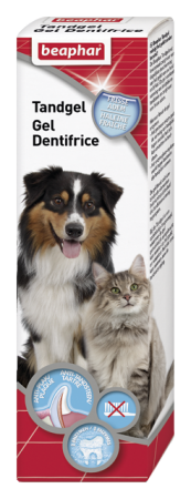 Tooth Gel for cats and dogs - French/English/German