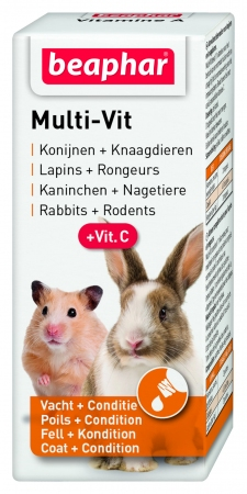 Multi Vit Small Animals - Dutch/French/English/German
