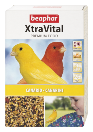 XtraVital Canary Feed - 250g - Spanish/Portuguese/Italian/Russian/Czech