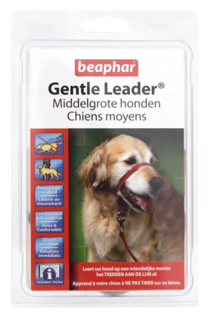 Gentle Leader Red (Medium) - Dutch/French