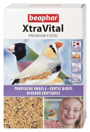 XtraVital Tropical Bird Feed - 500g - Dutch/French/English/Greek/Norwegian