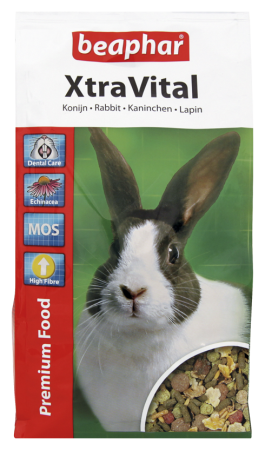 XtraVital Rabbit Feed - 1kg - Dutch/French/English/German/Spanish/Portuguese/Italian/Greek