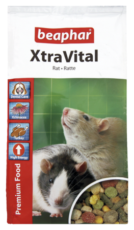 XtraVital Rat Feed - 500g - Dutch/French/English/German/Spanish/Portuguese/Italian/Greek