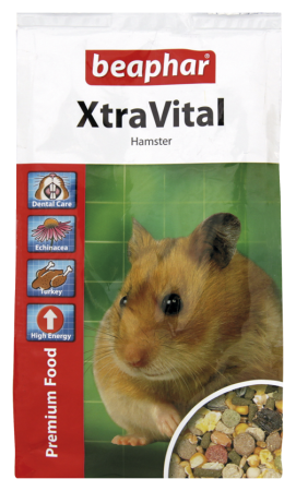 XtraVital Hamster Feed - Dutch/French/English/German/Spanish/Portuguese/Italian/Greek