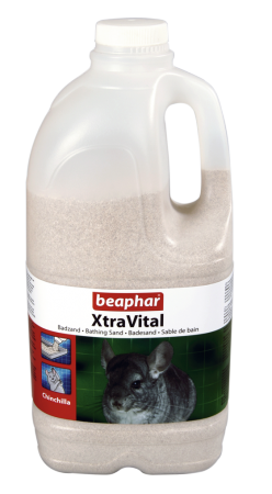 XtraVital Chinchilla Bathing Sand - Dutch/French/English/German/Spanish/Portuguese/Italian/Greek