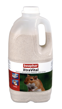 XtraVital Gerbil Bathing Sand - Dutch/French/English/German/Spanish/Portuguese/Italian/Greek