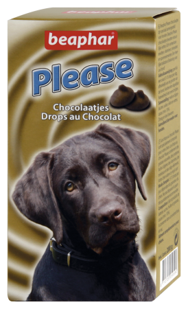 Please Choc Drops - Dutch/French/English/German
