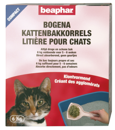 Bogena Cat Litter Compact - Dutch/French/English/German