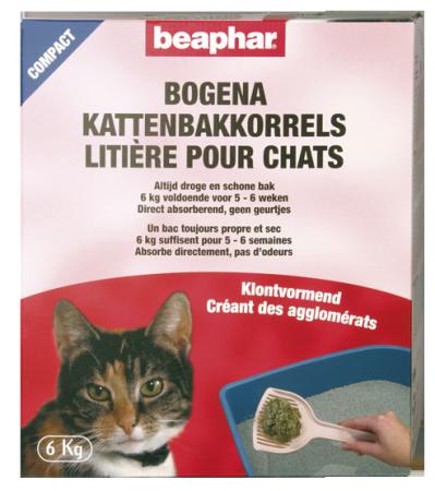 Bogena Cat Litter Compact - Dutch/French/English/German
