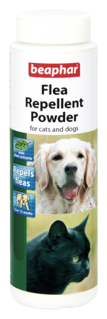 Flea & Tick Repellent Powder for cats and dogs - English