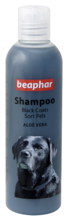 Shampoo Black Coat Aloë Vera - English/Norwegian/